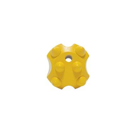 """Cone Bits Botão Balístico 40mm 7/8"""" 6 Botões"""